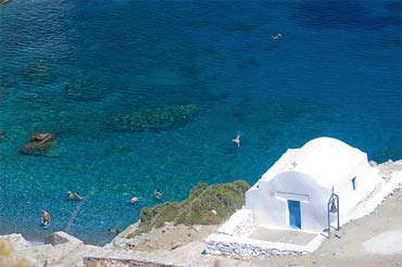 Amorgos Island Cycladic Islands Greece
