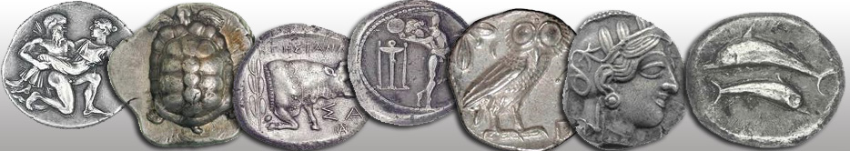 rare coins - ancient greek coins