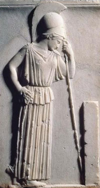characteristics and history of the goddess athena Athena bears traits common with indo-european solar goddesses, including the possession of a mirror and the invention of weaving, characteristics which are also held by the baltic goddess saulė athena's association with medusa, who is also suspected of being a solar goddess, [31] adds further solar iconography to her cultus [31].
