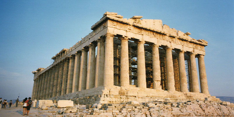 Acropolis The Greek Parthenon