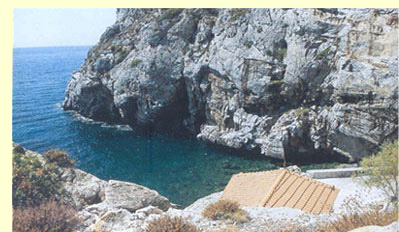 lesvos hot springs - Panagia I Kryfti