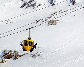 parnassos ski resort - parnassos lifts