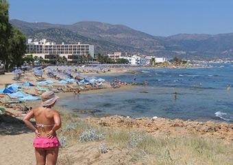 Fodele Beach Hotel Kreta Baujahr