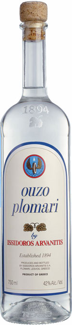 plomari ouzo - ouzo bottle