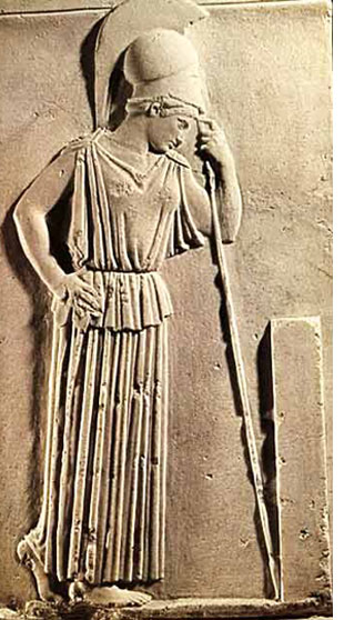 athena greek goddess