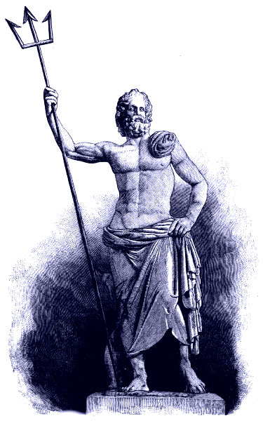 Poseidon the Greek God of Sea