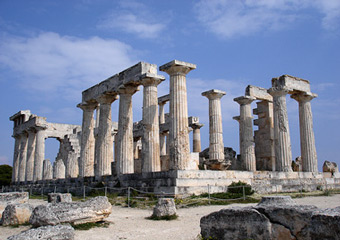greek islands - aegina-temple-of-aphaia