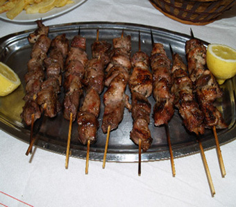 Ancient greek meat