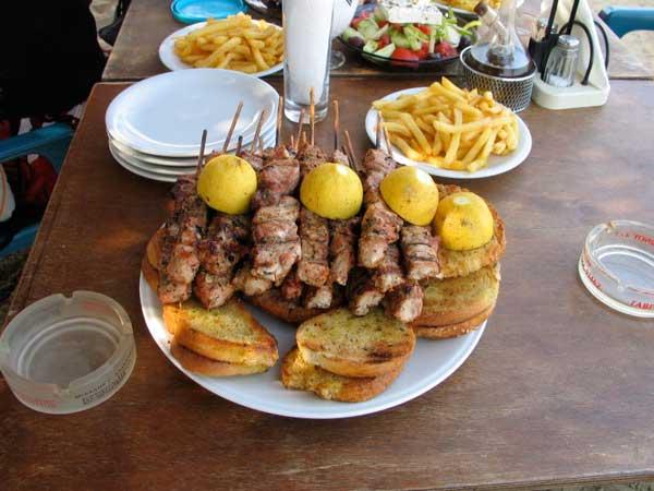 Is Souvlaki Street Food