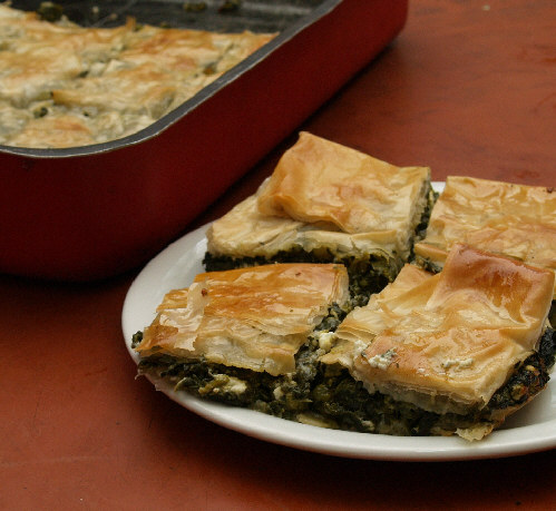 Spanakopita (Greek Spinach Pie) Recipe — Dishmaps