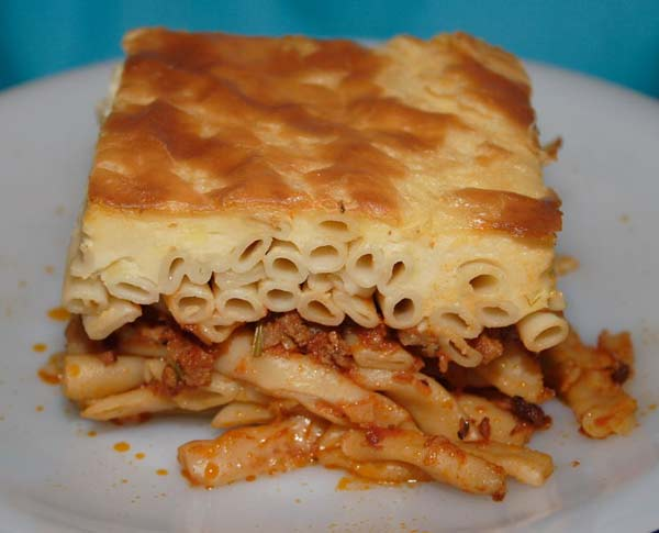 Greek recipes pastichio for About greek cuisine
