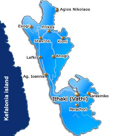 Ithaca Greece Ionian island