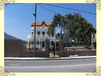 lesvos traditional mansions