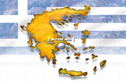 greece - greek map