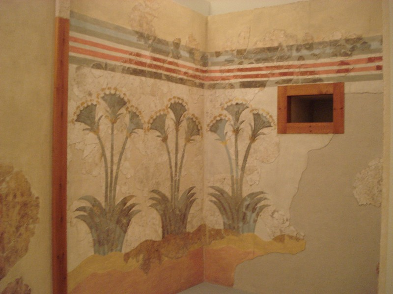 Akrotiri Thera Wall Paintings