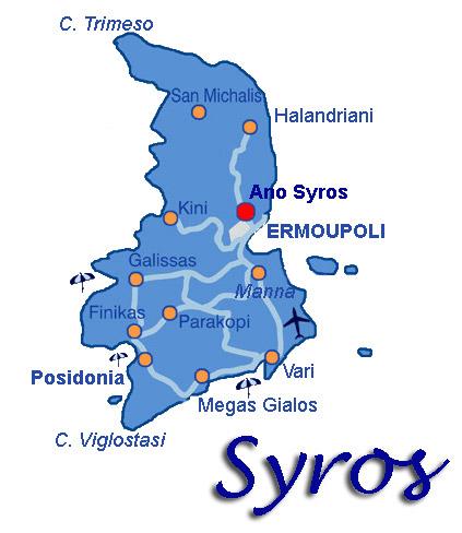 Syros Greece Greek island Syros